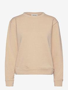 Holly sweat - sweatshirts - cream milk