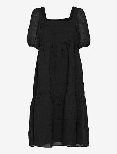 Jackie dress - midi dresses - black