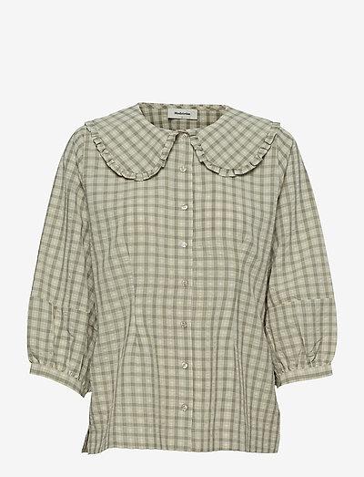 Jose shirt - long-sleeved shirts - cream milk
