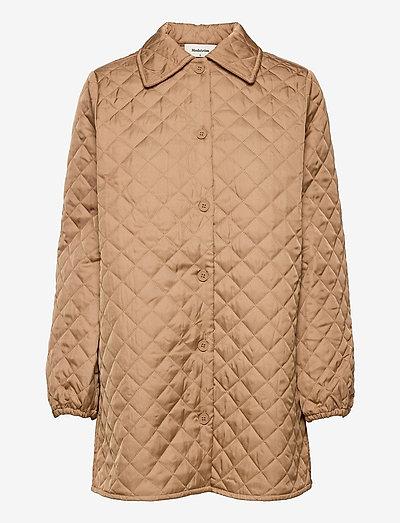 Joey coatigan - quilted jackets - camel