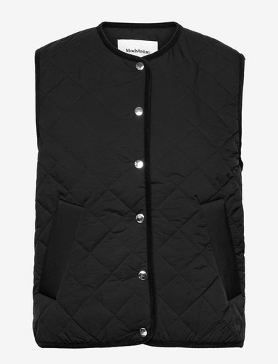 Koa vest - vatteret veste - black