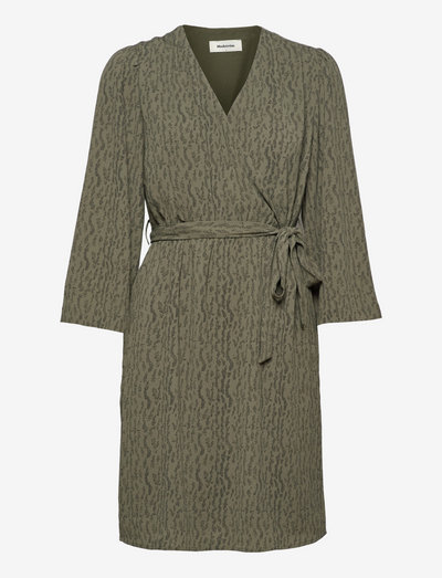 Lois print dress - sommerkjoler - elmwood dot