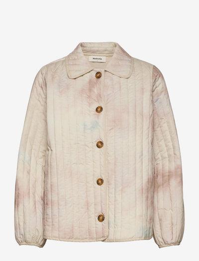 Luella print coatigan - forede jakker - sage tie dye