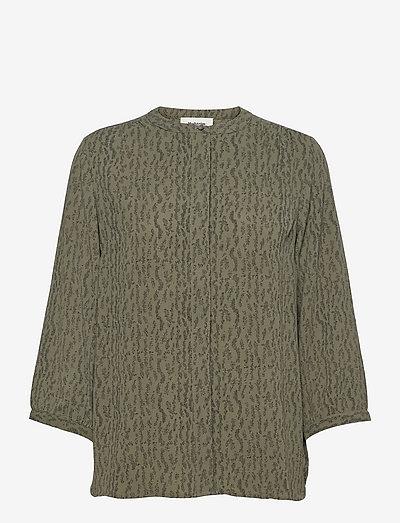 Lois print shirt - langærmede bluser - elmwood dot