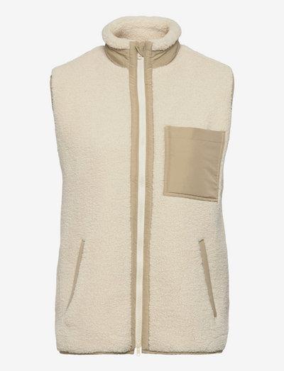 Trunk vest - veste - off white