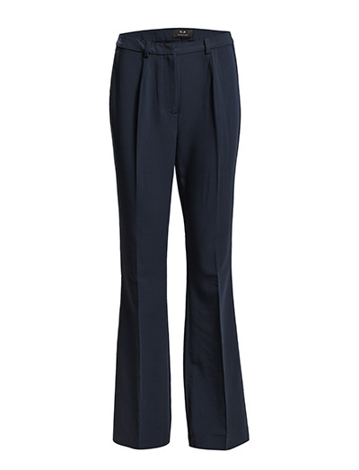 Tilde flared pants - NAVY NOIR