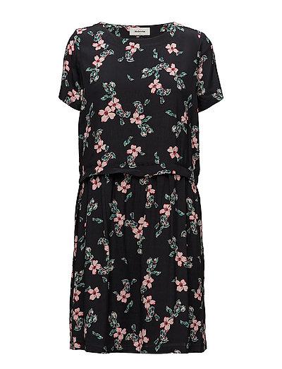 Tassel print dress - BLACK BLOOM