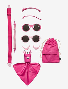 MO8001 Click&Change 0-2 år, 2 in 1 - solbriller - pink