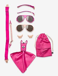 MO8006 Click&Change 2-5 år,  2 in 1 - solbriller - pink