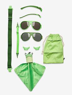 MO8007 Click&Change 2-5 år,  2 in 1 - solbriller - green