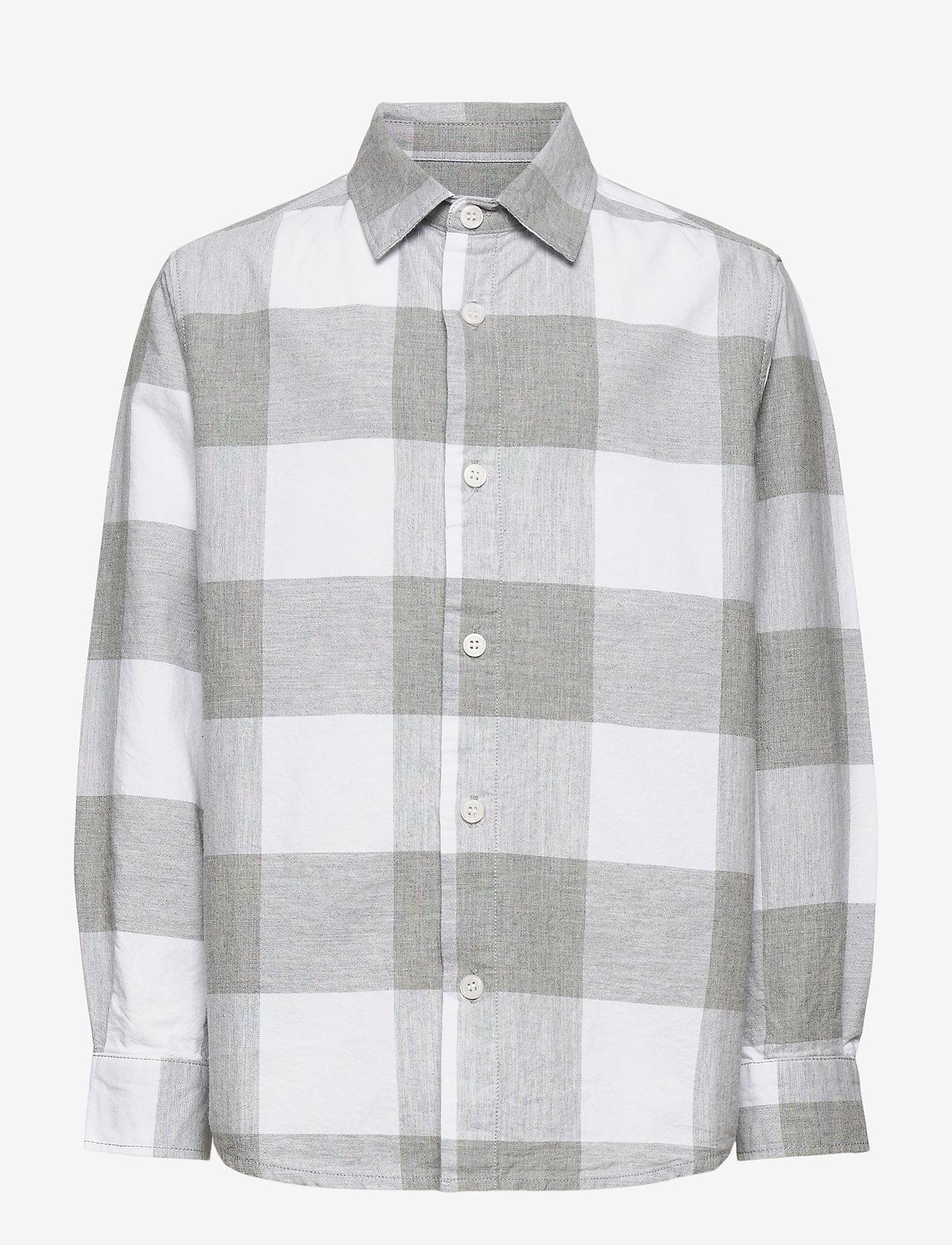 Molo - Russy - shirts - grey check - 0