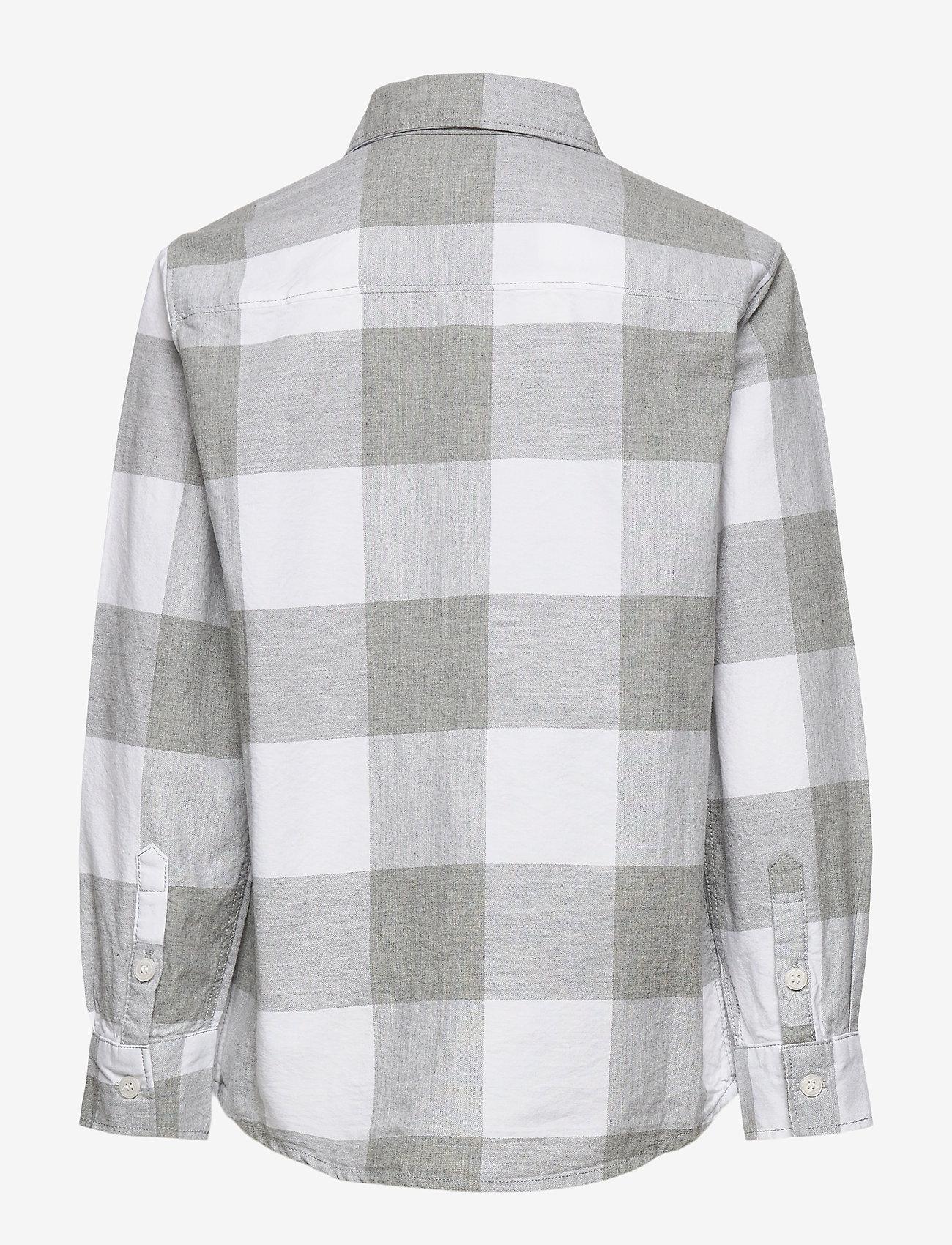 Molo - Russy - shirts - grey check - 1