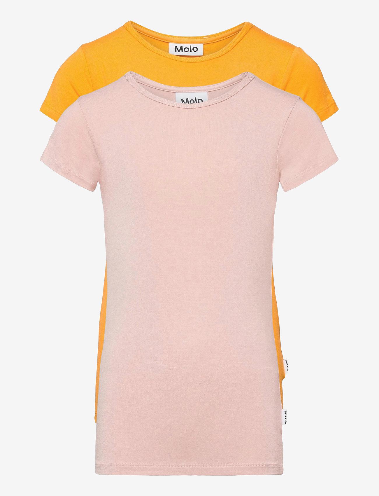 Molo - Rasmine 2-Pack - kortærmede - tangerine blush - 0