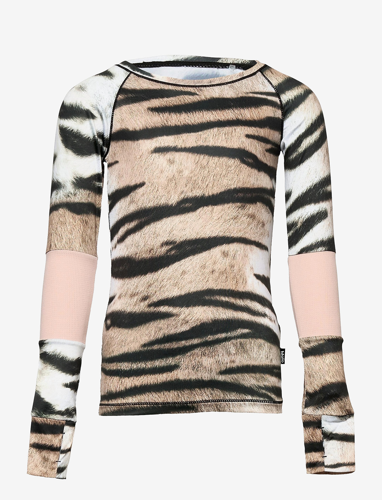 Molo - Odelia - langærmede t-shirts - wild tiger - 0