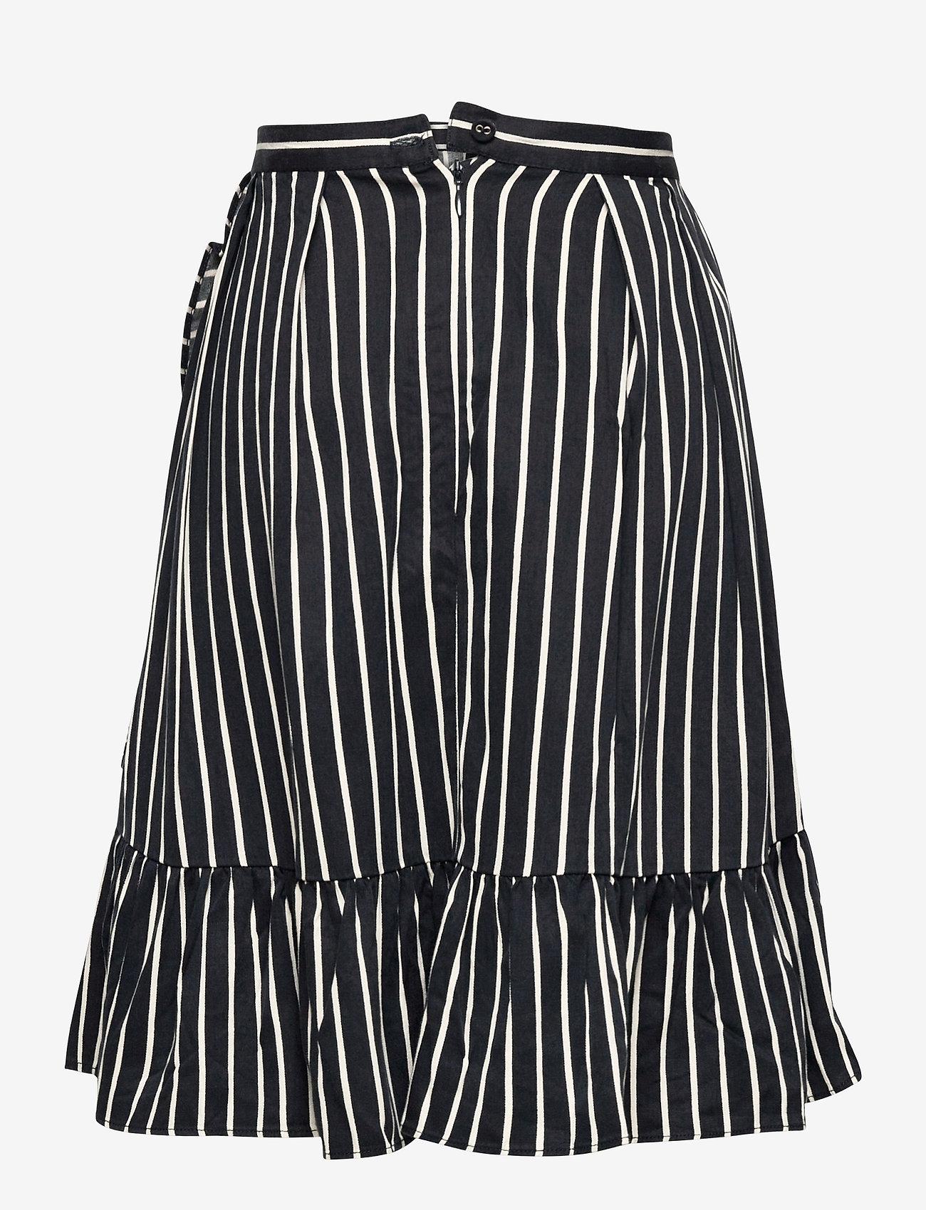 Molo - Blondie - nederdele - vertical bw stripe - 1