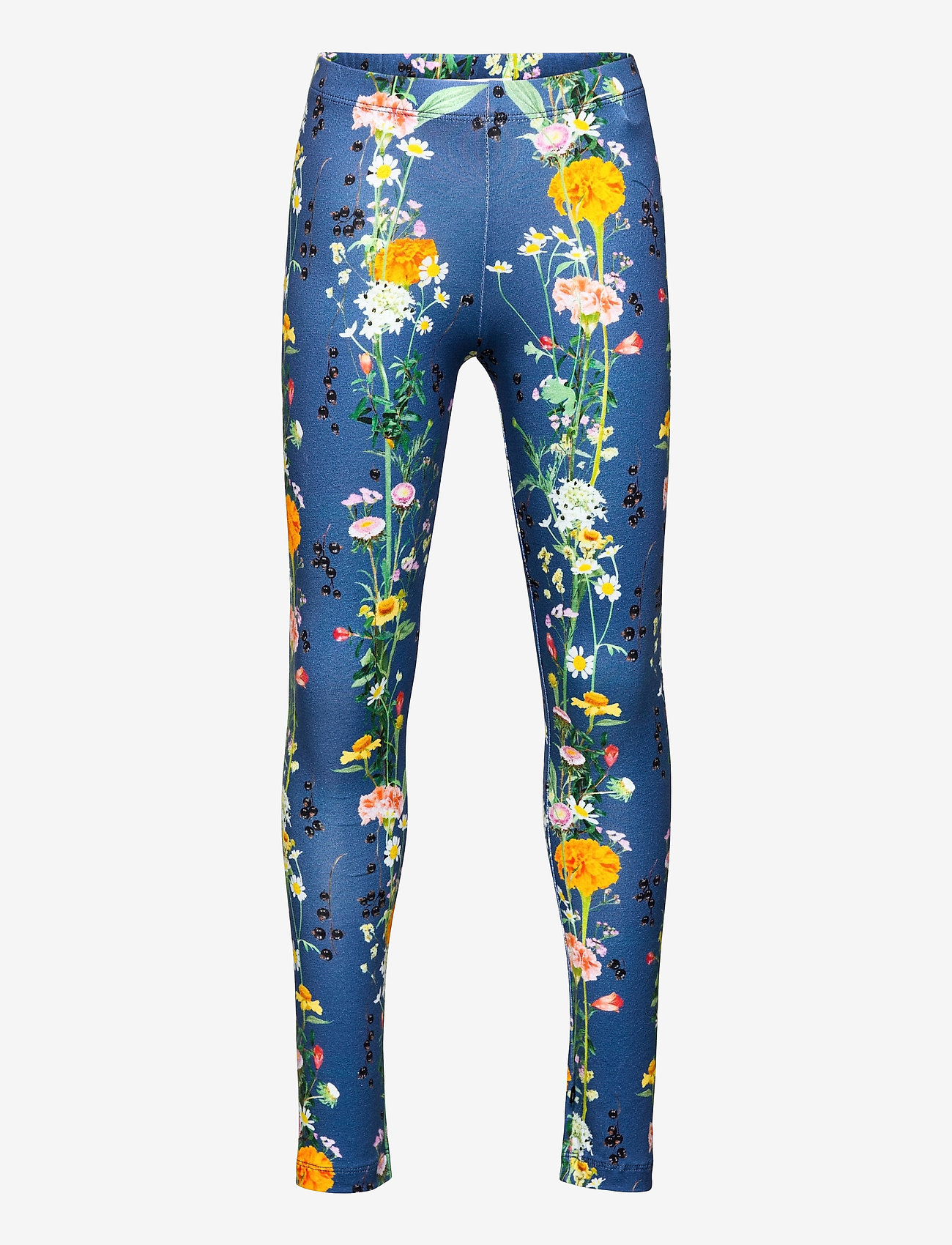 Molo - Niki - leggings - vertical flowers - 0