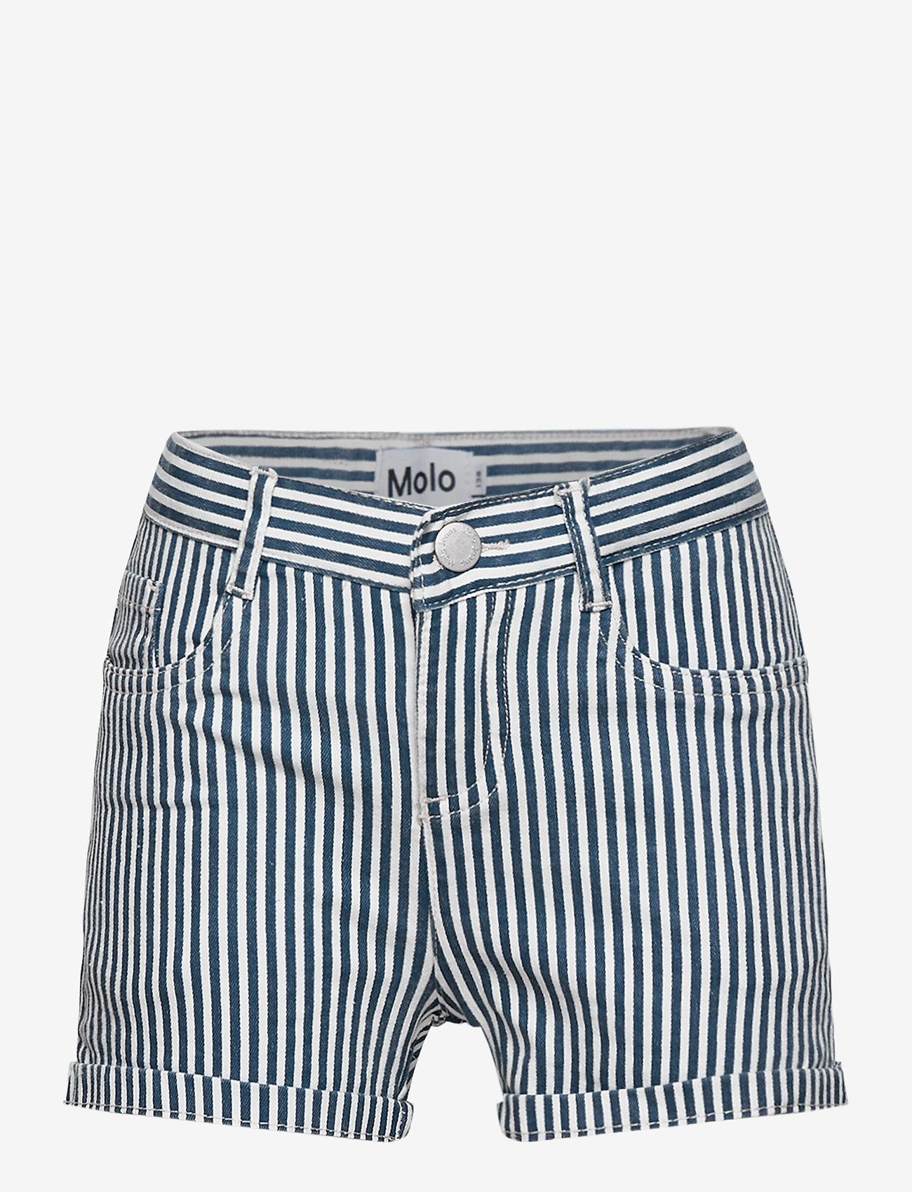 Molo - Audrey - shorts - eclipse stripe - 0