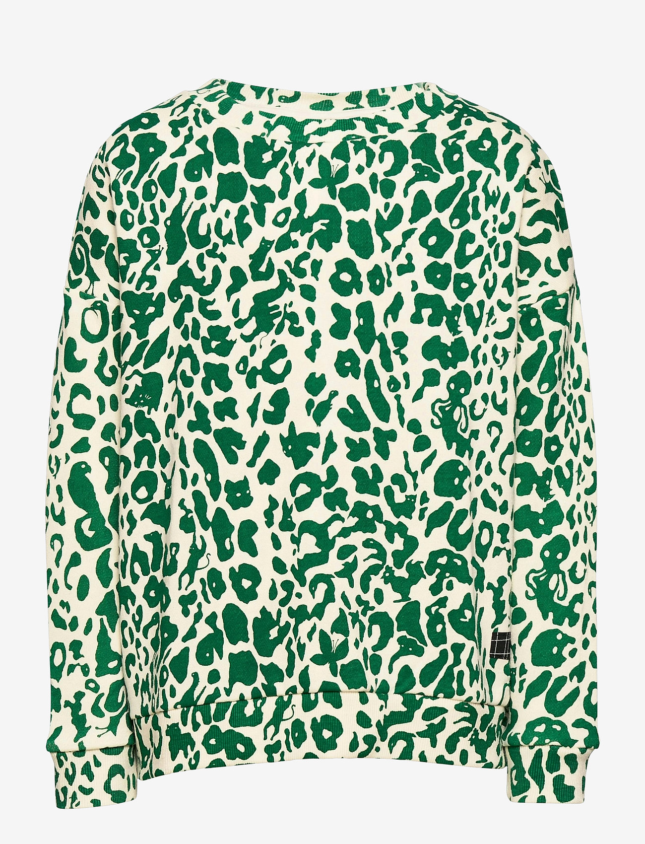 Molo - Mika - sweatshirts - green leopard - 0