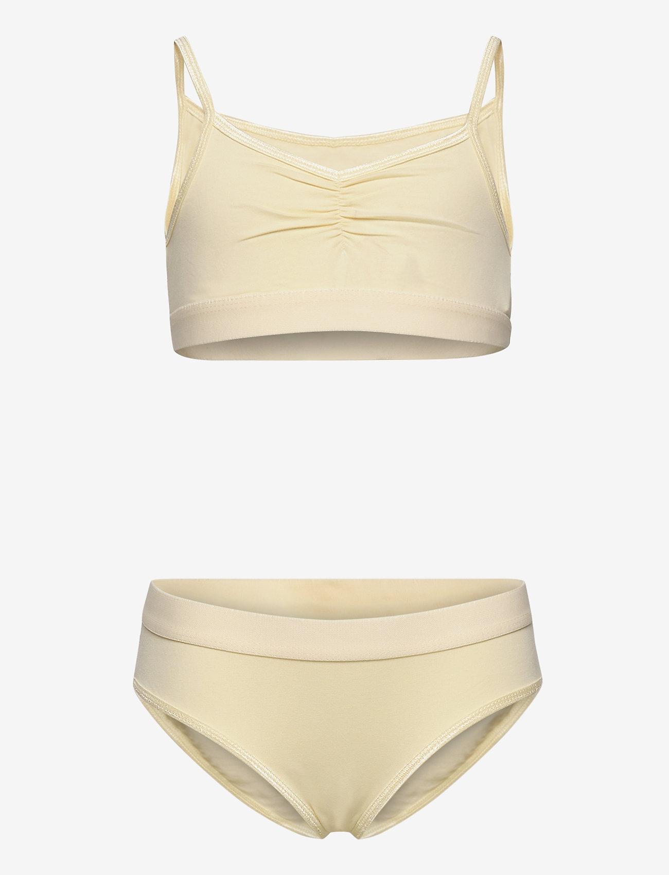 Molo - Jinny - undertøjssæt - banana crepe - 0