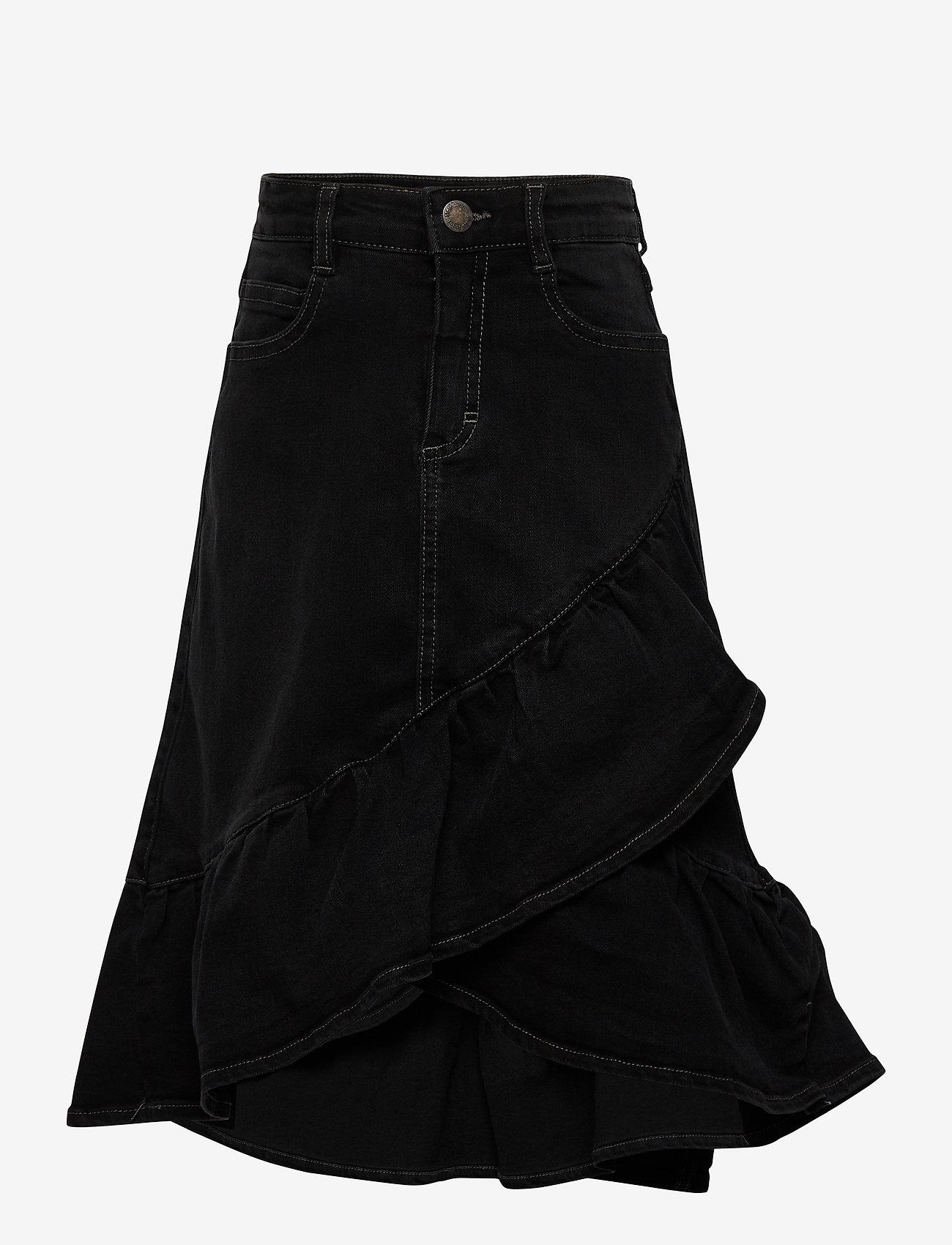 Molo - Belinda - spódnice - black denim - 0