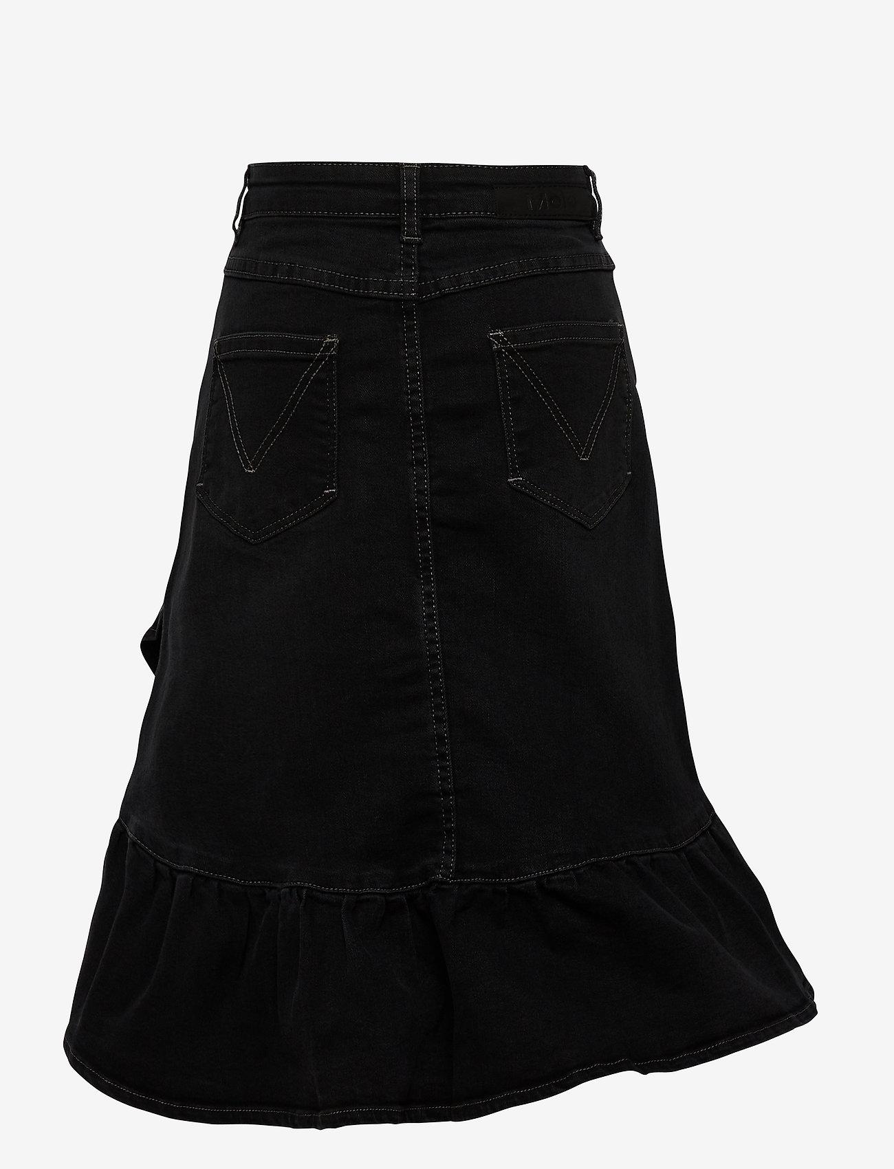 Molo - Belinda - spódnice - black denim - 1