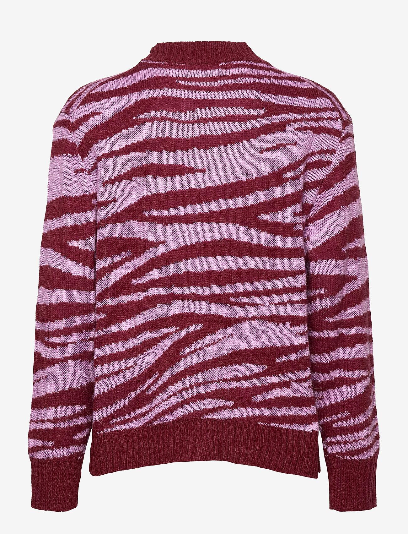 Molo - Gady - gilets - zebra knit - 1