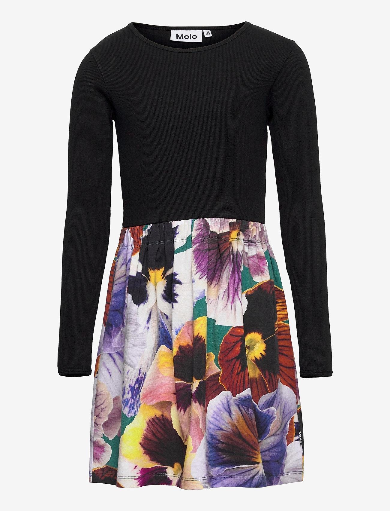 Molo - Credence - kleider - velvet floral - 0