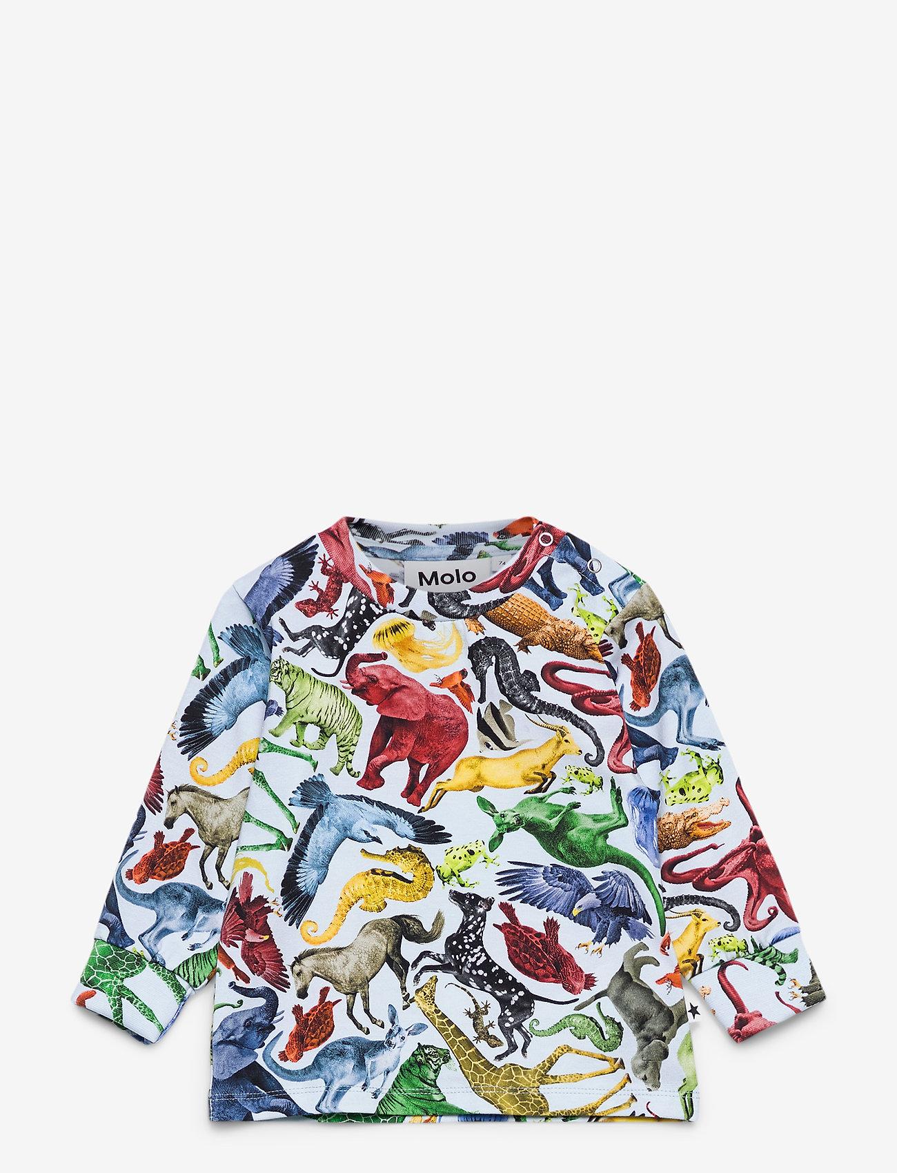 Molo - Eloy - langärmelig - colourful animals - 0