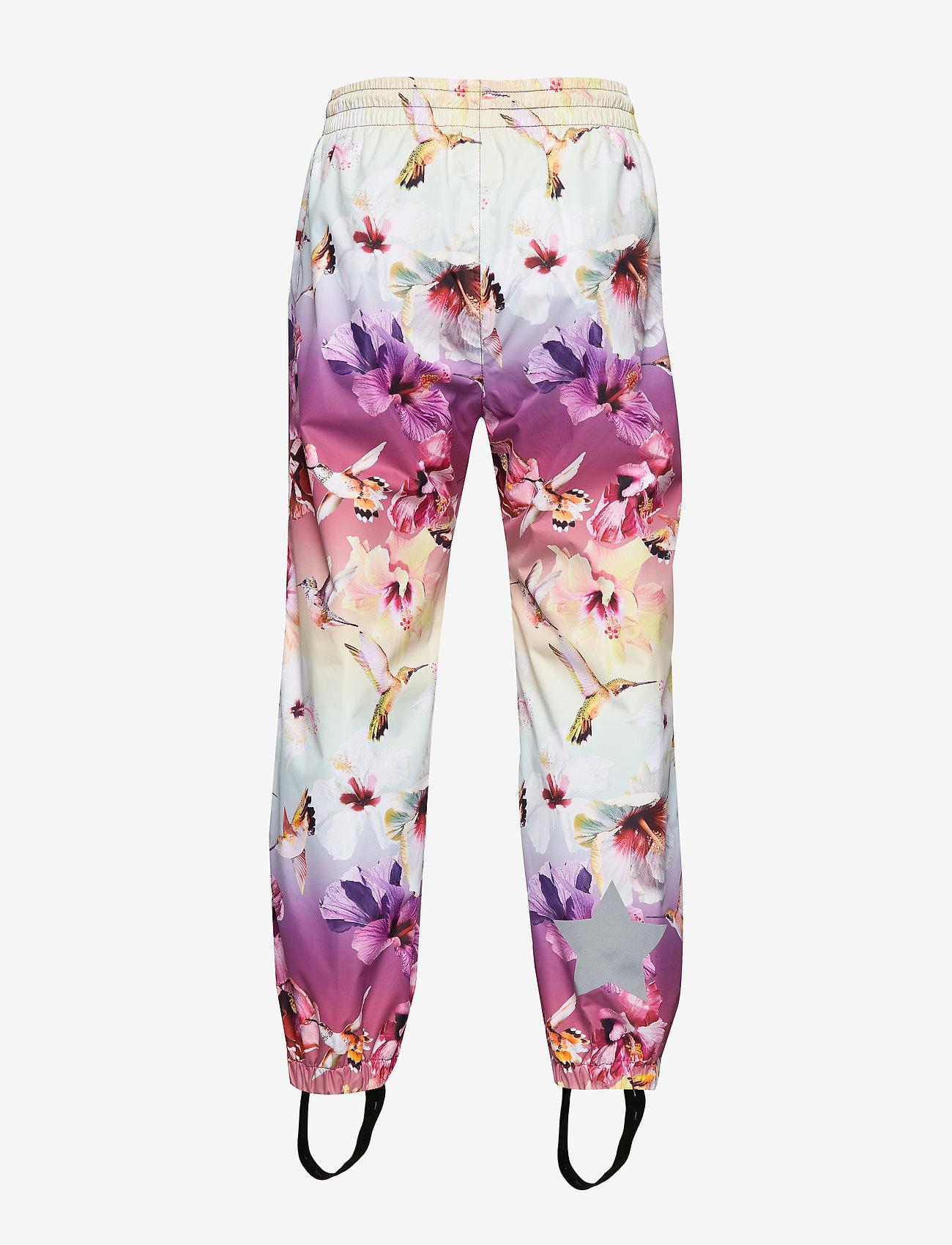 Molo Waits - Regnkläder Hibiscus Rainbow
