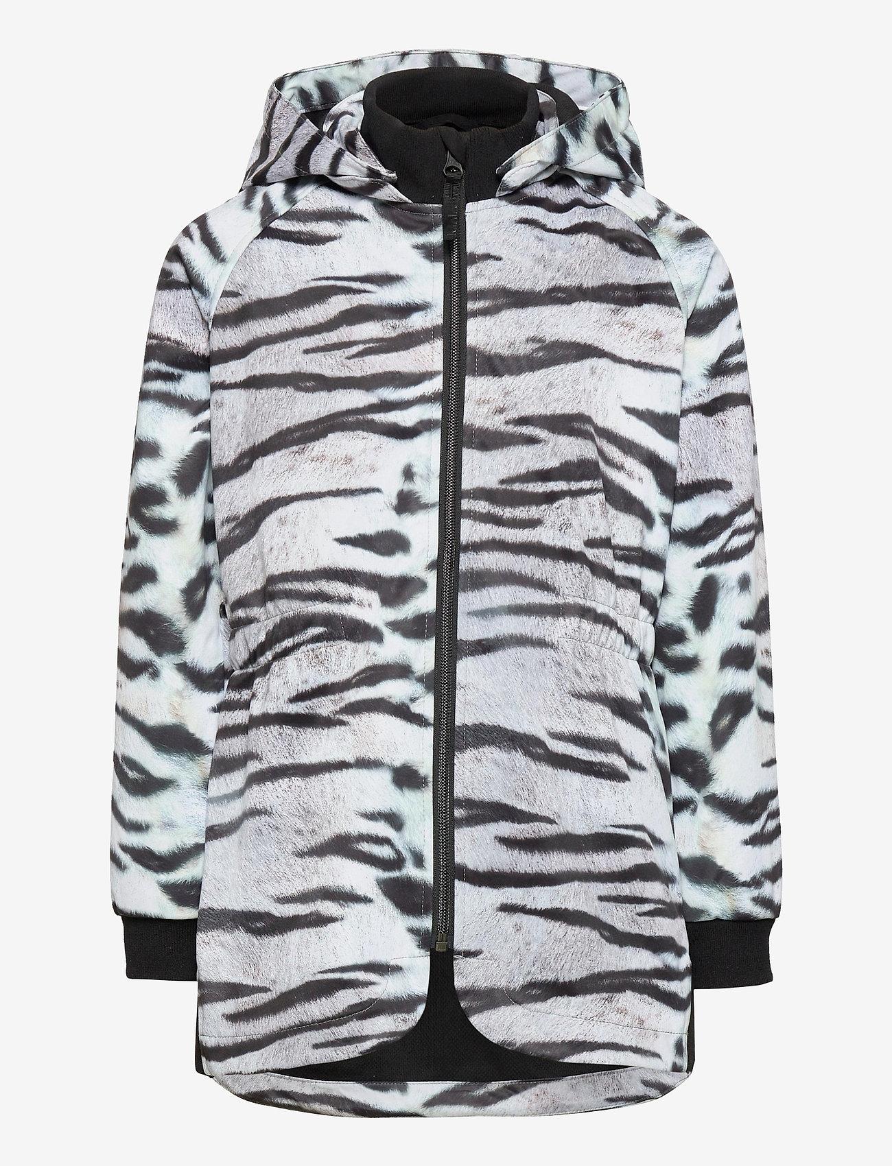 Molo - Hillary - softshell-jakker - tiger white - 0