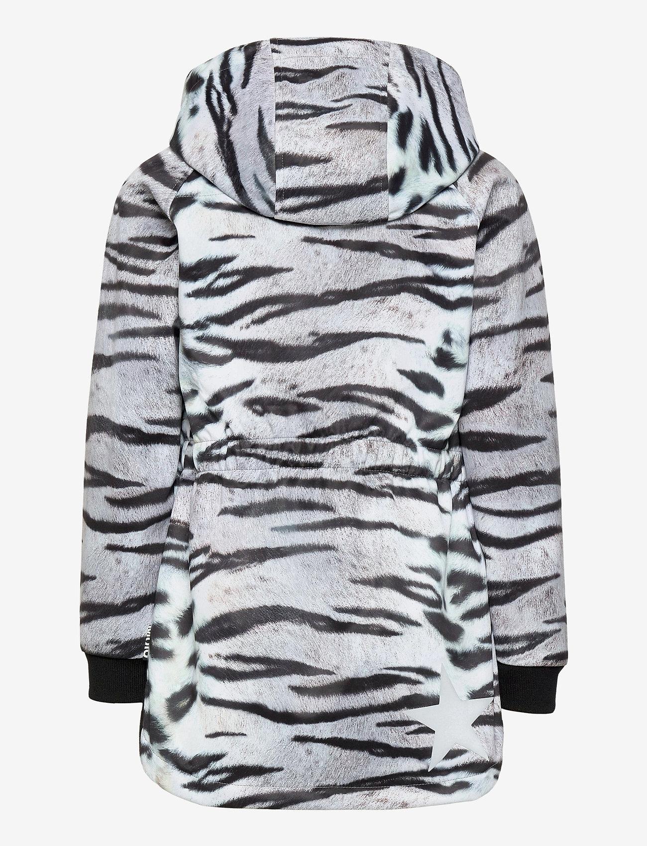 Molo - Hillary - softshell-jakker - tiger white - 1