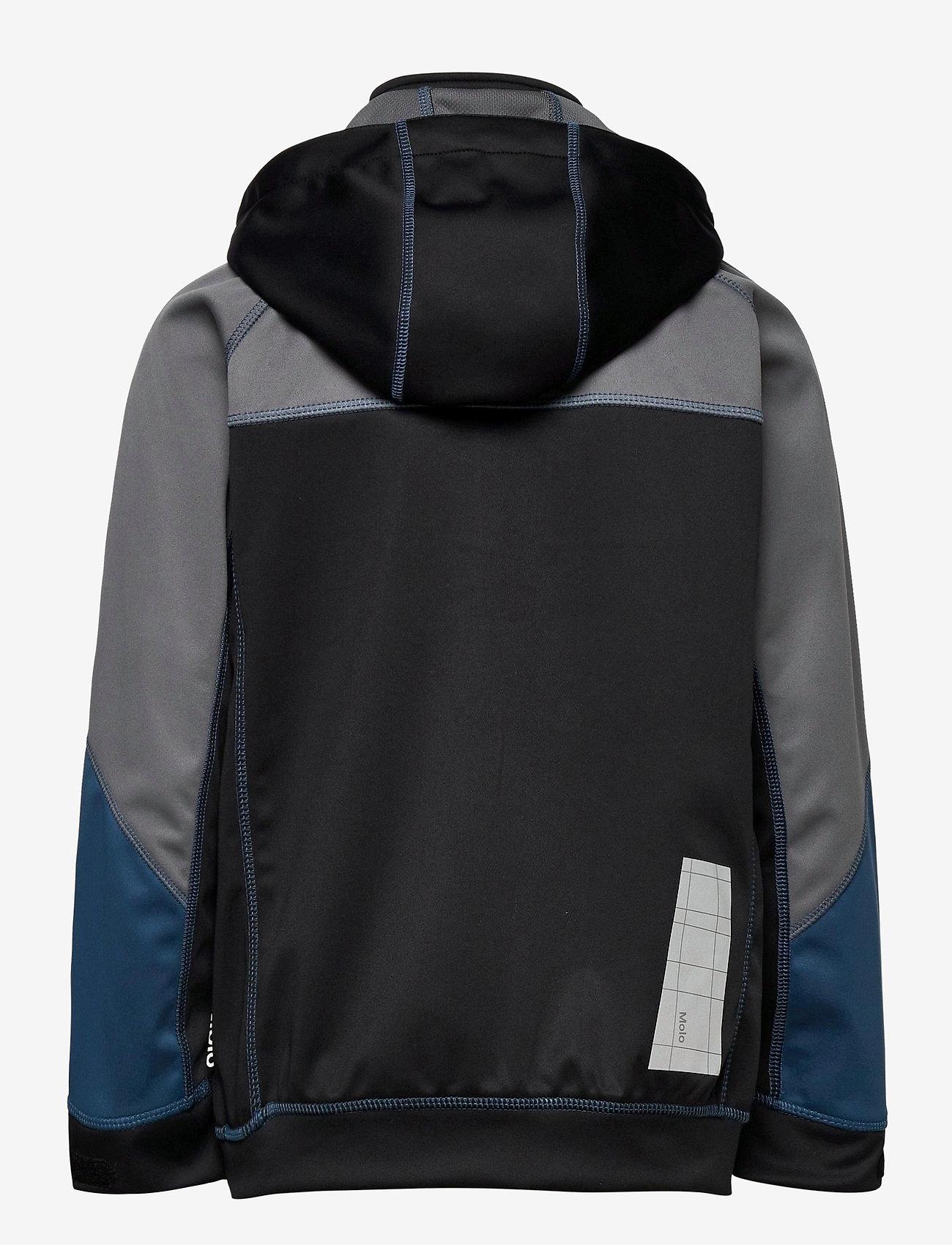 Molo - Cloudy - softshell-jakker - block - 1