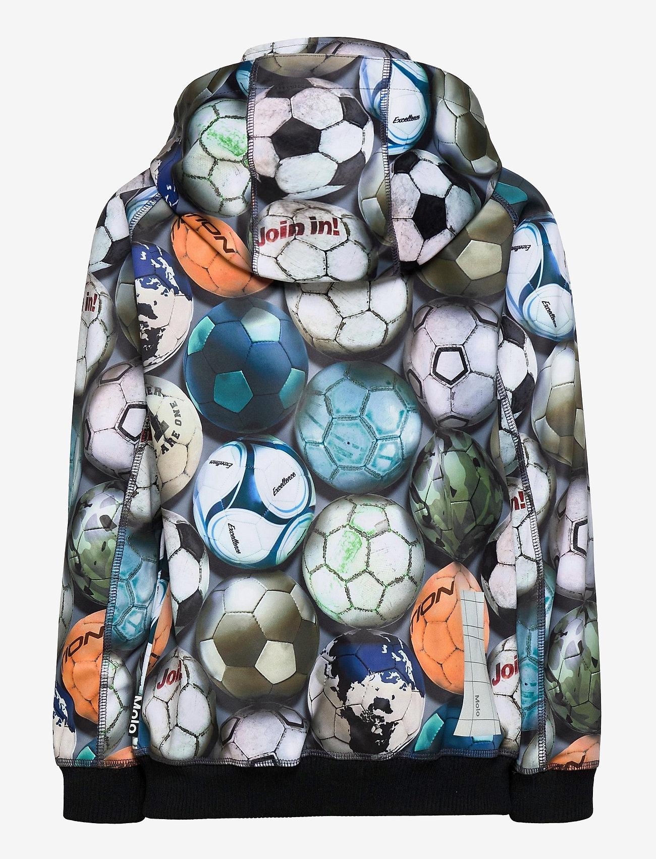 Molo - Cloudy - softshell-jakker - football camo - 1
