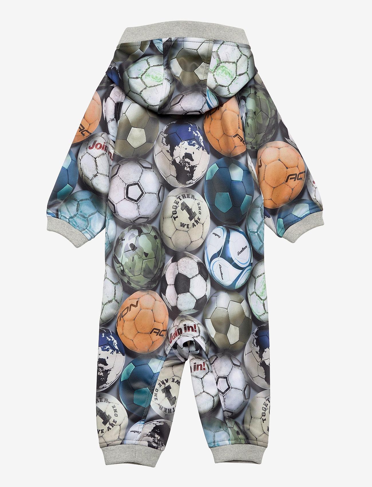 Molo - Hill - softshells - football camo - 1