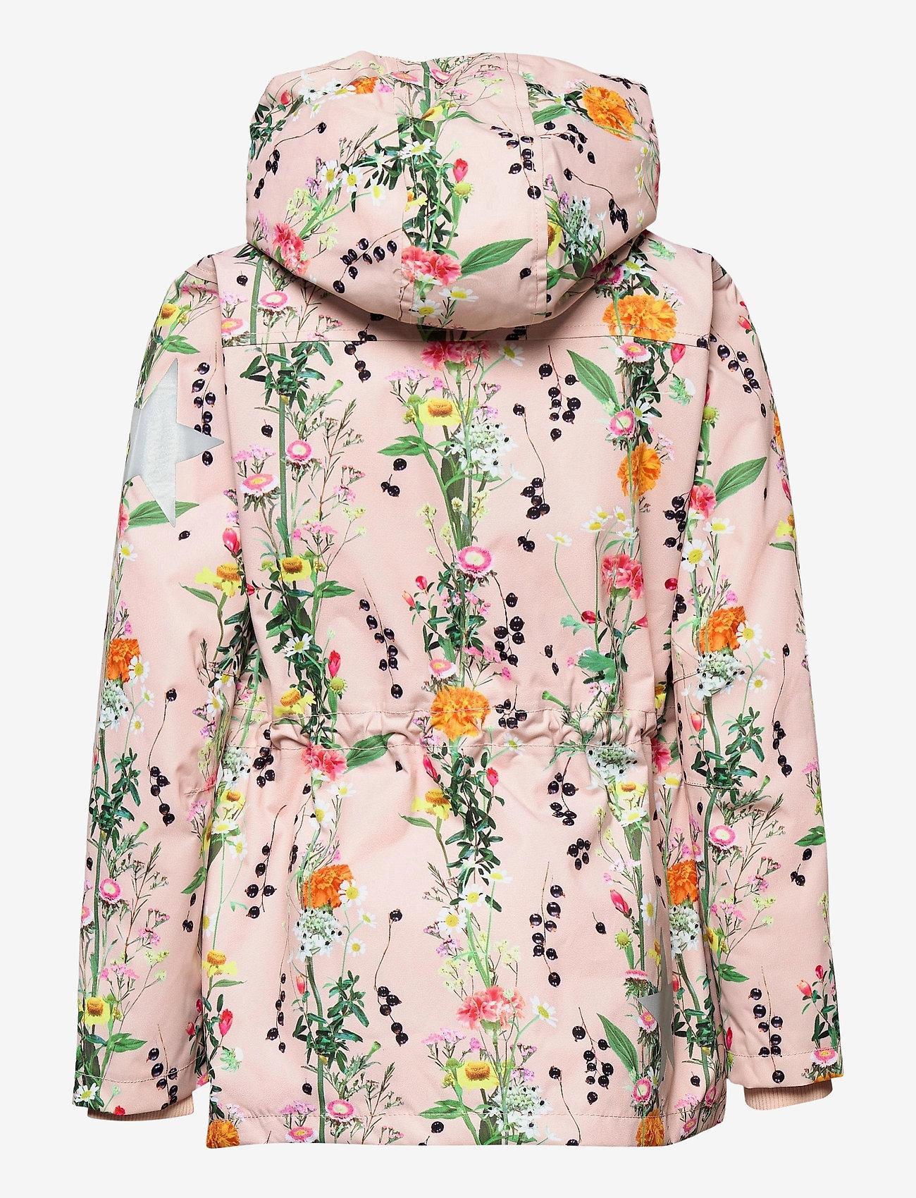 Molo - Carole - parkas - vertical flowers - 1