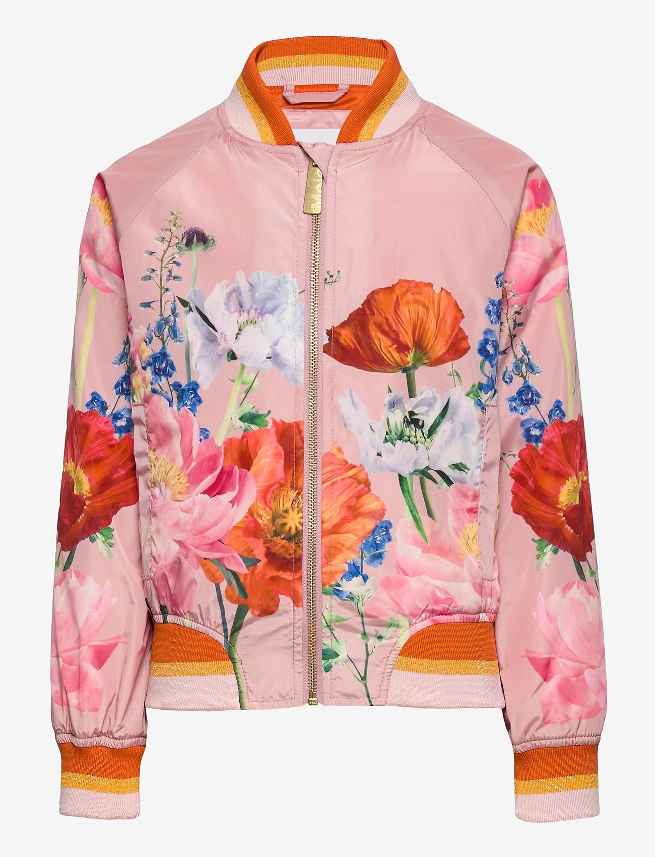 Molo - Happy - bomberjakker - in bloom pink - 0