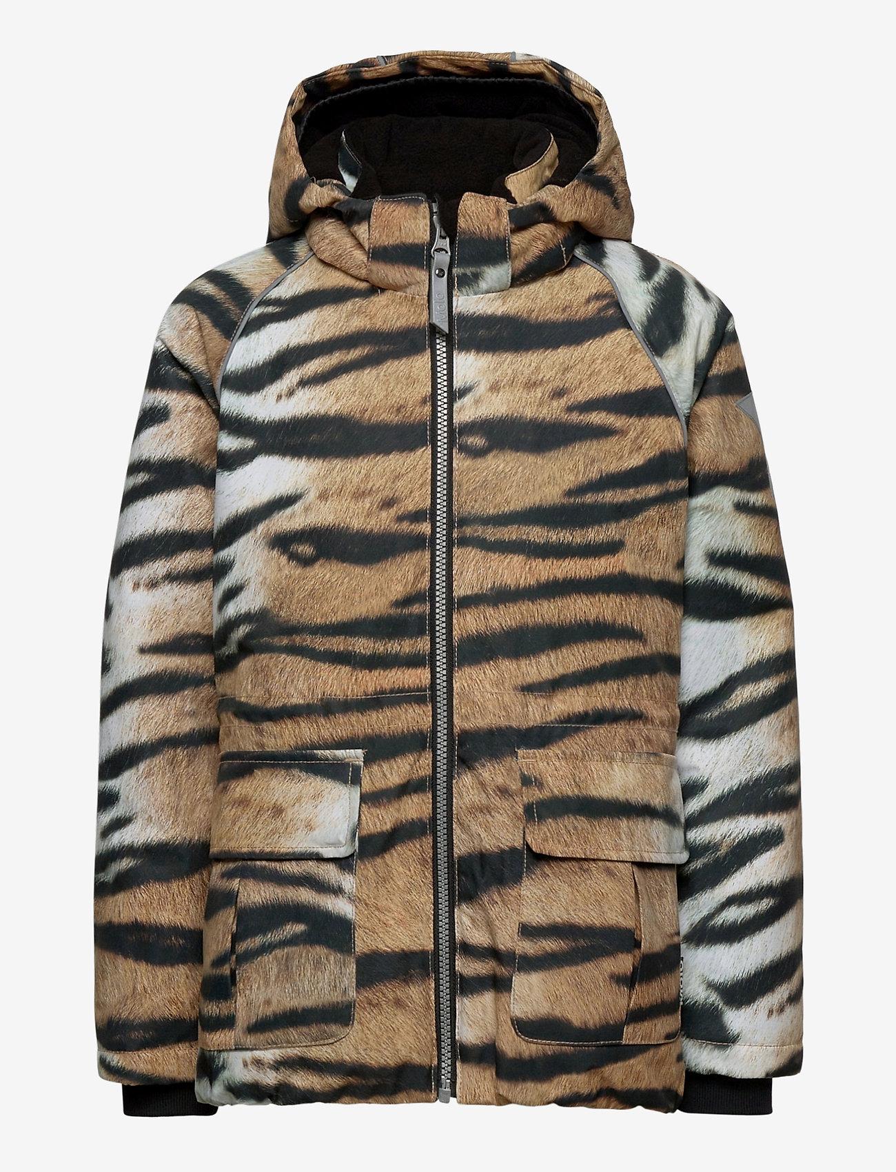 Molo - Cathy - softshell-jakker - wild tiger - 1