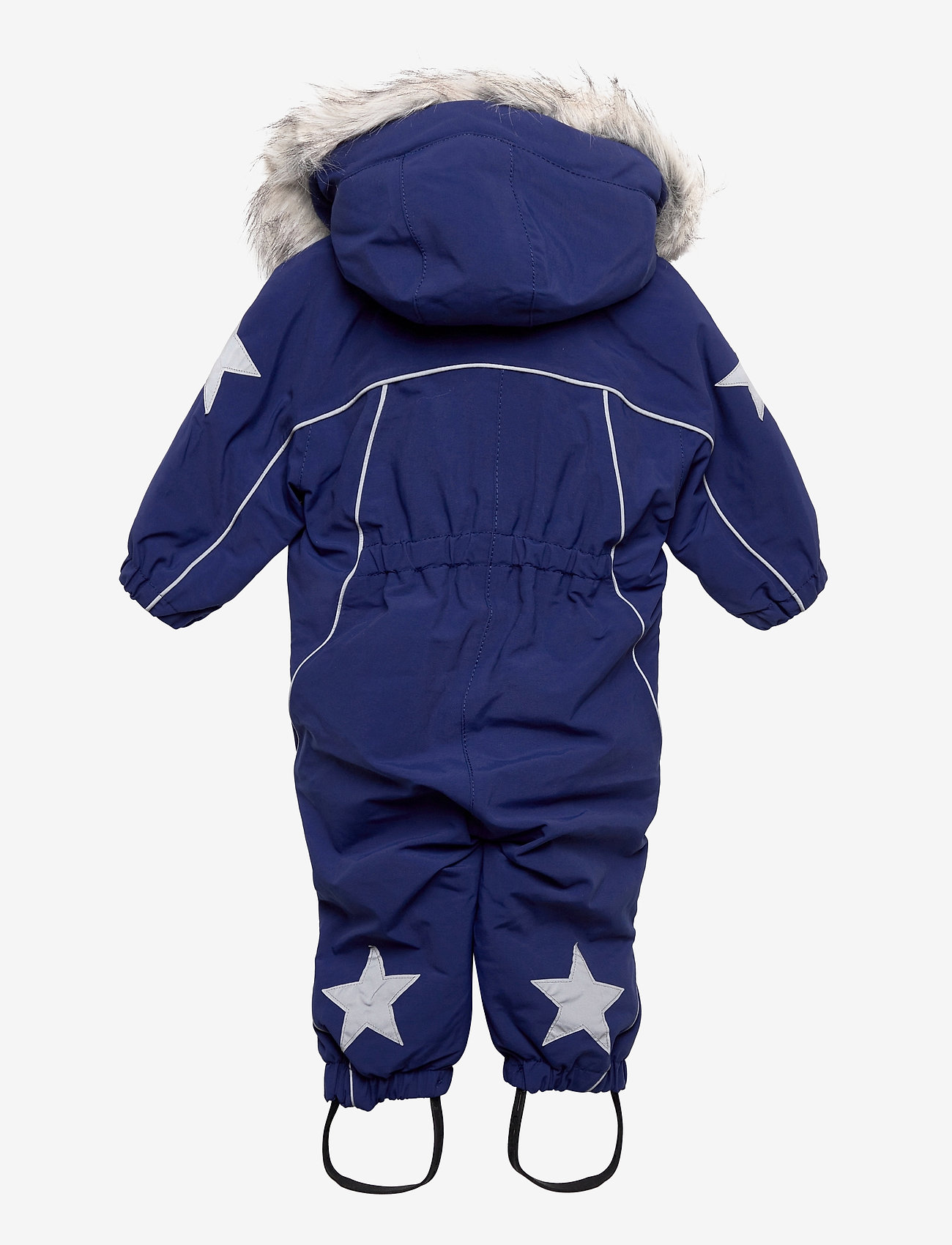 Molo - Pyxis Fur Recycle - snowsuit - ink blue - 1