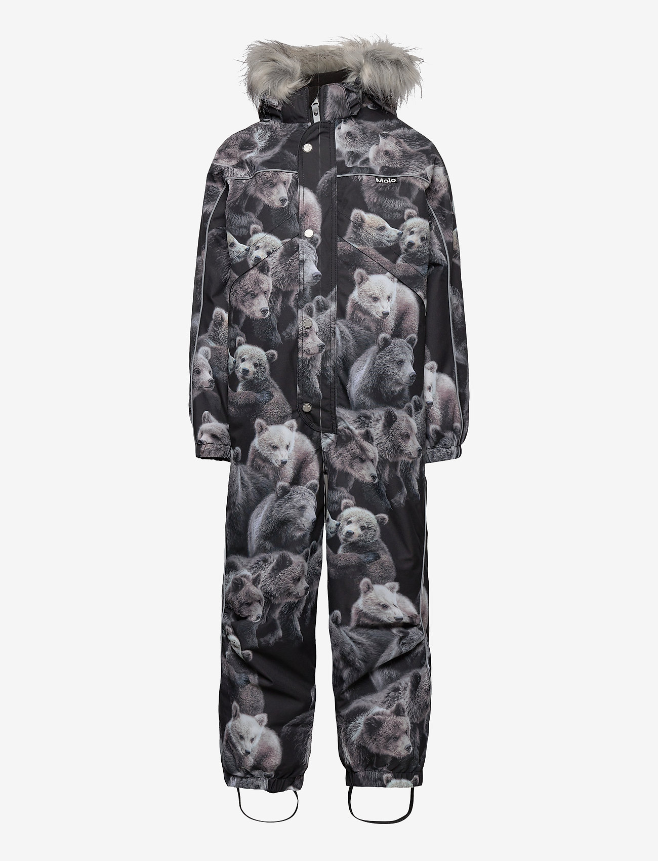 Molo - Polaris Fur - snowsuit - teddy - 1