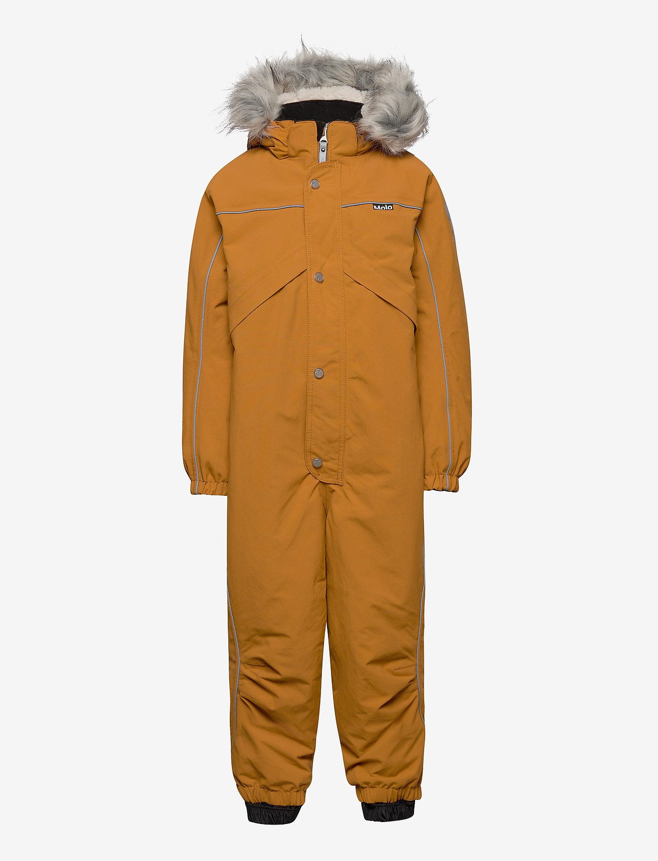 Molo - Polaris Fur Recycle - snowsuit - autumn leaf - 0