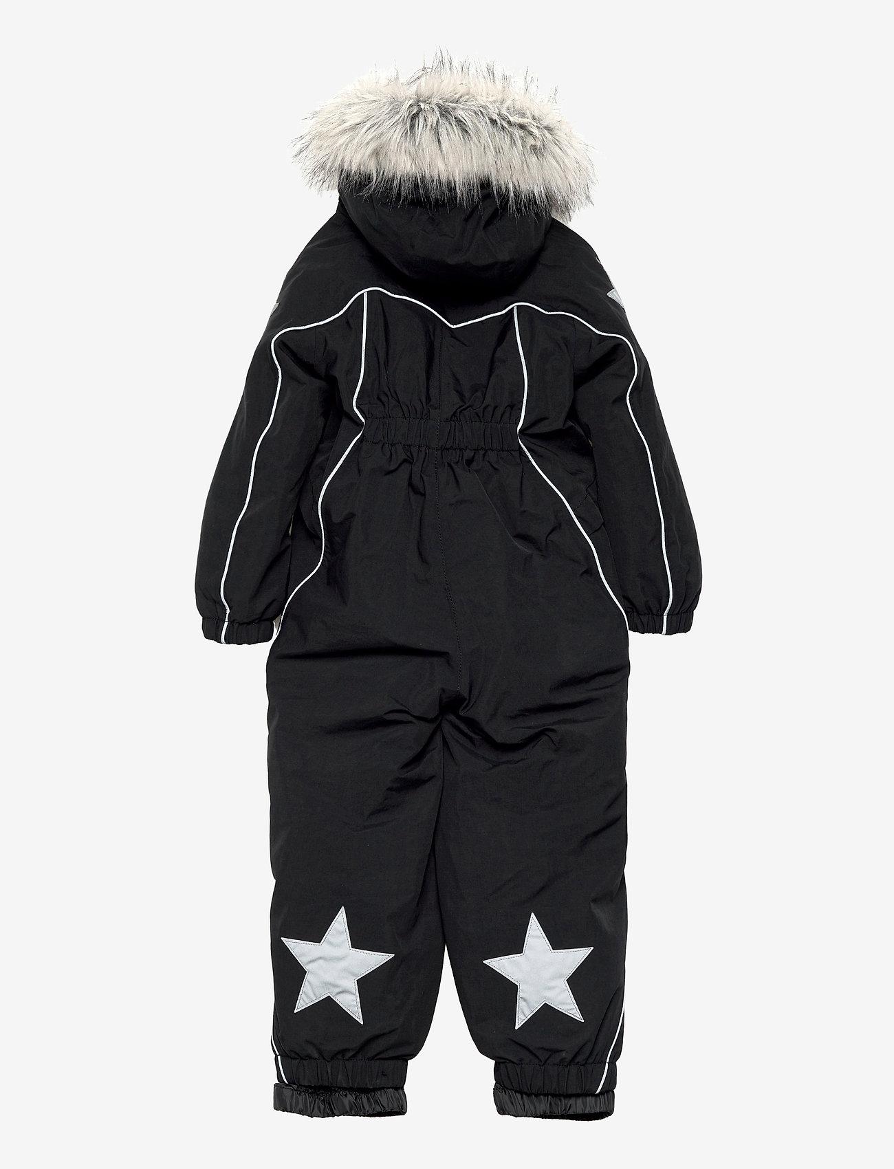 Molo - Polaris Fur - snowsuit - black - 1