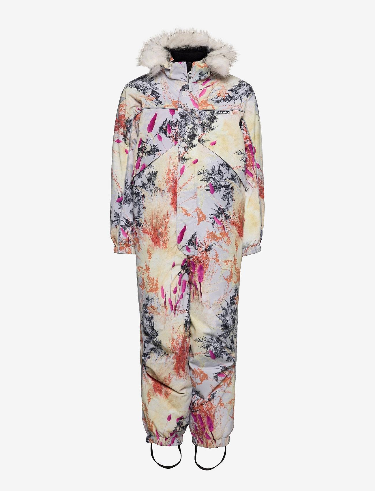 Molo - Polaris Fur - snowsuit - eternal flowers - 0