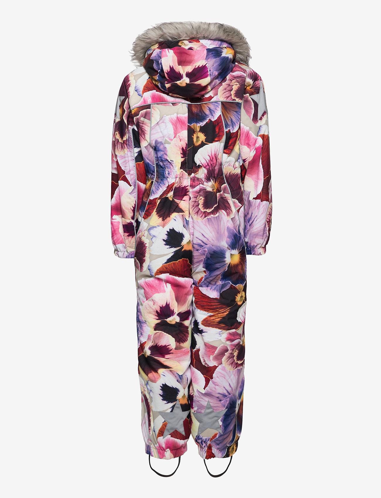 Molo - Polaris Fur - snowsuit - giant floral - 1