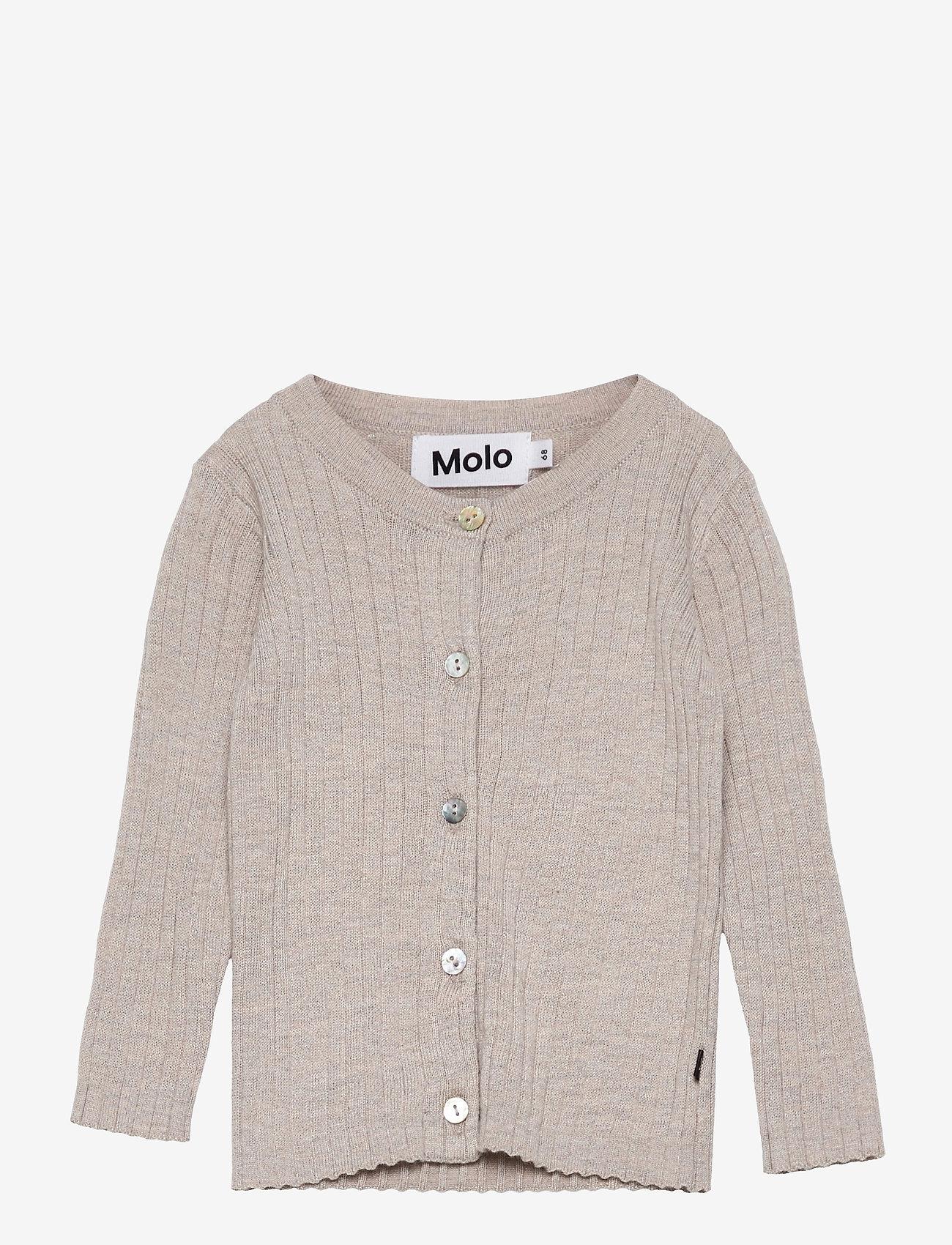 Molo - Georgette - gilets - doeskin melange - 0
