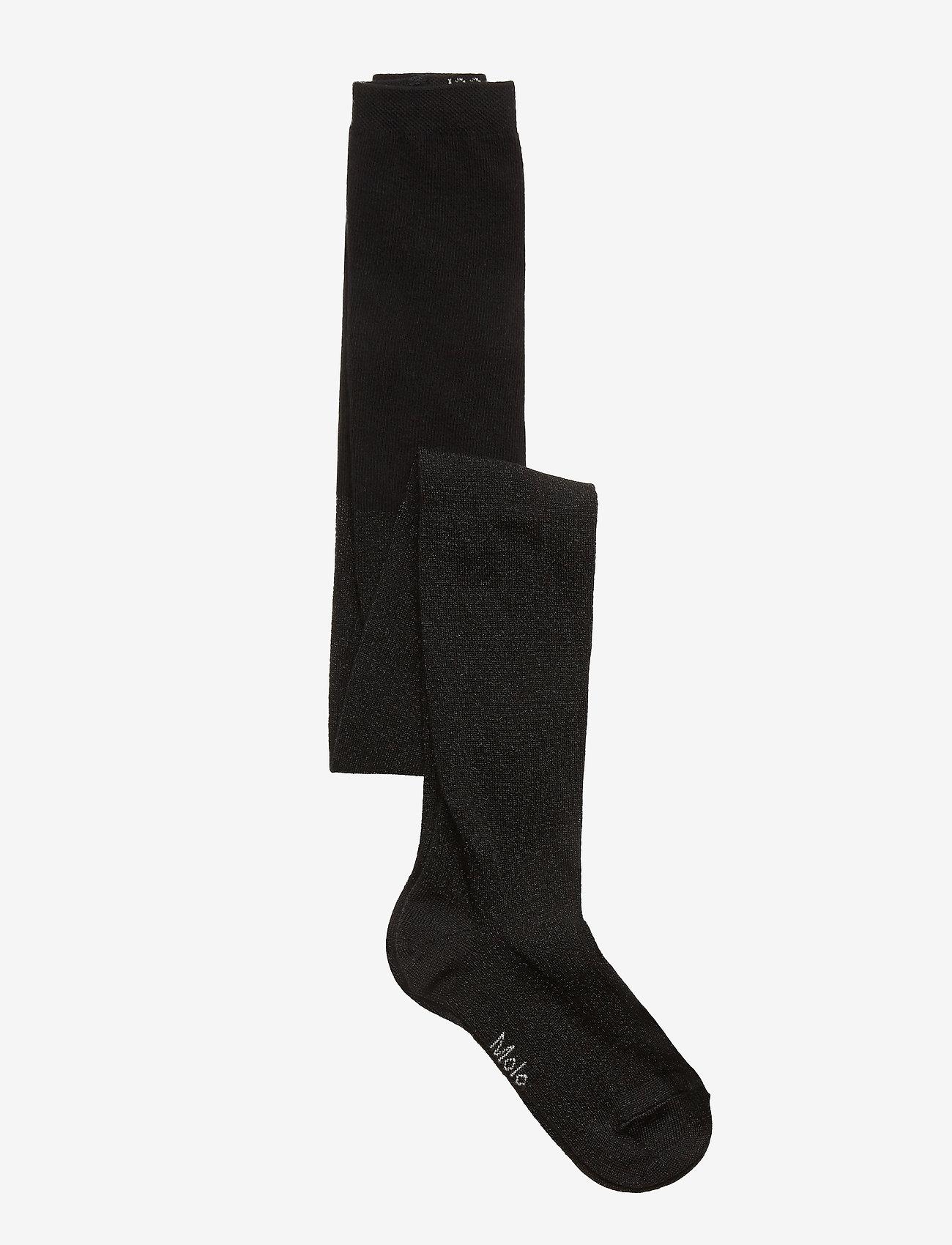 Molo - Glitter tights - strømpebukser - black - 0