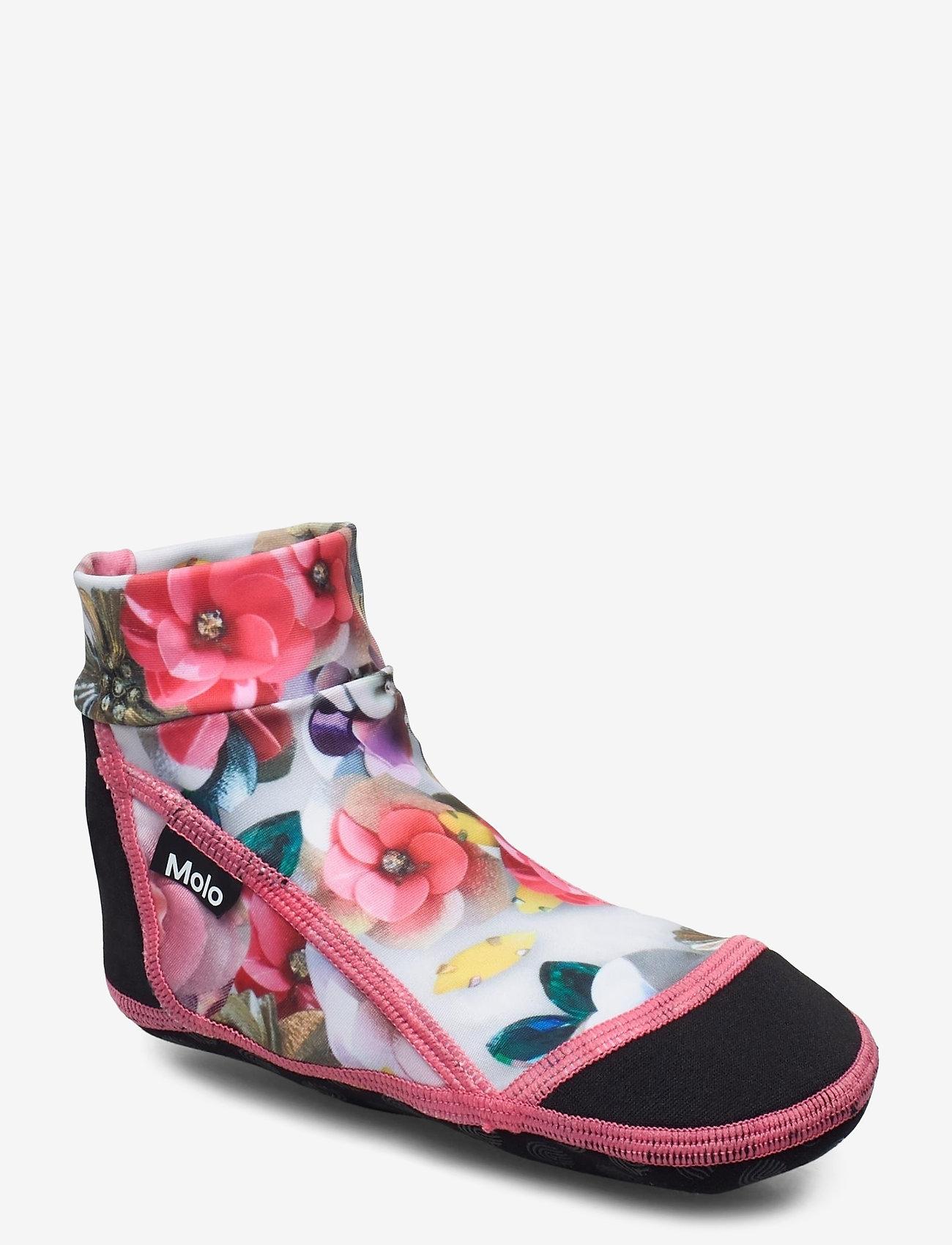 Molo - Zabi - hausschuhe - sequins flowers - 0