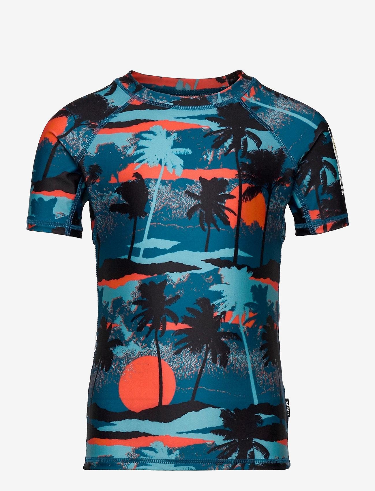Molo - Neptune - uv-clothing - palm trees blue - 0