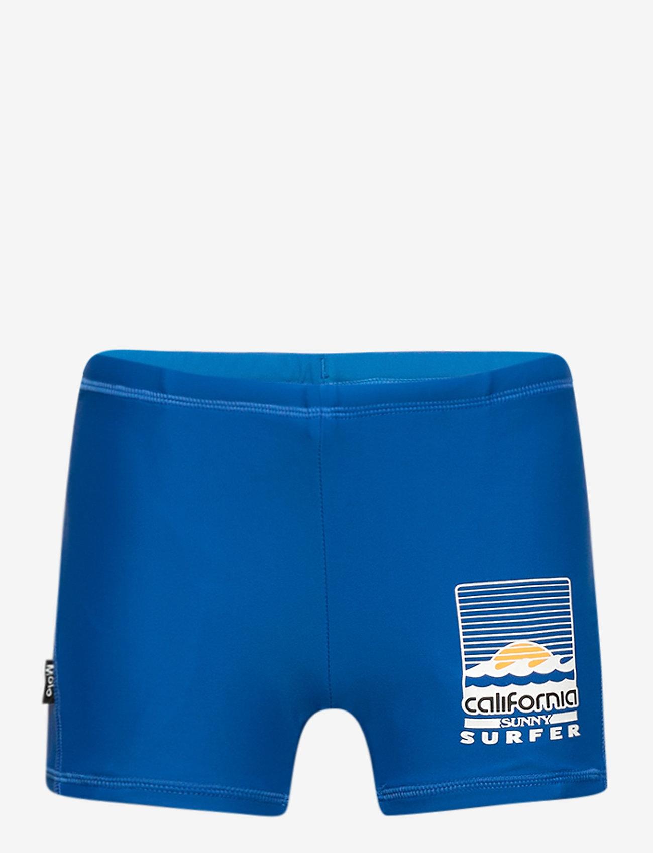 Molo - Norton Solid - badehosen - snorkle blue - 0