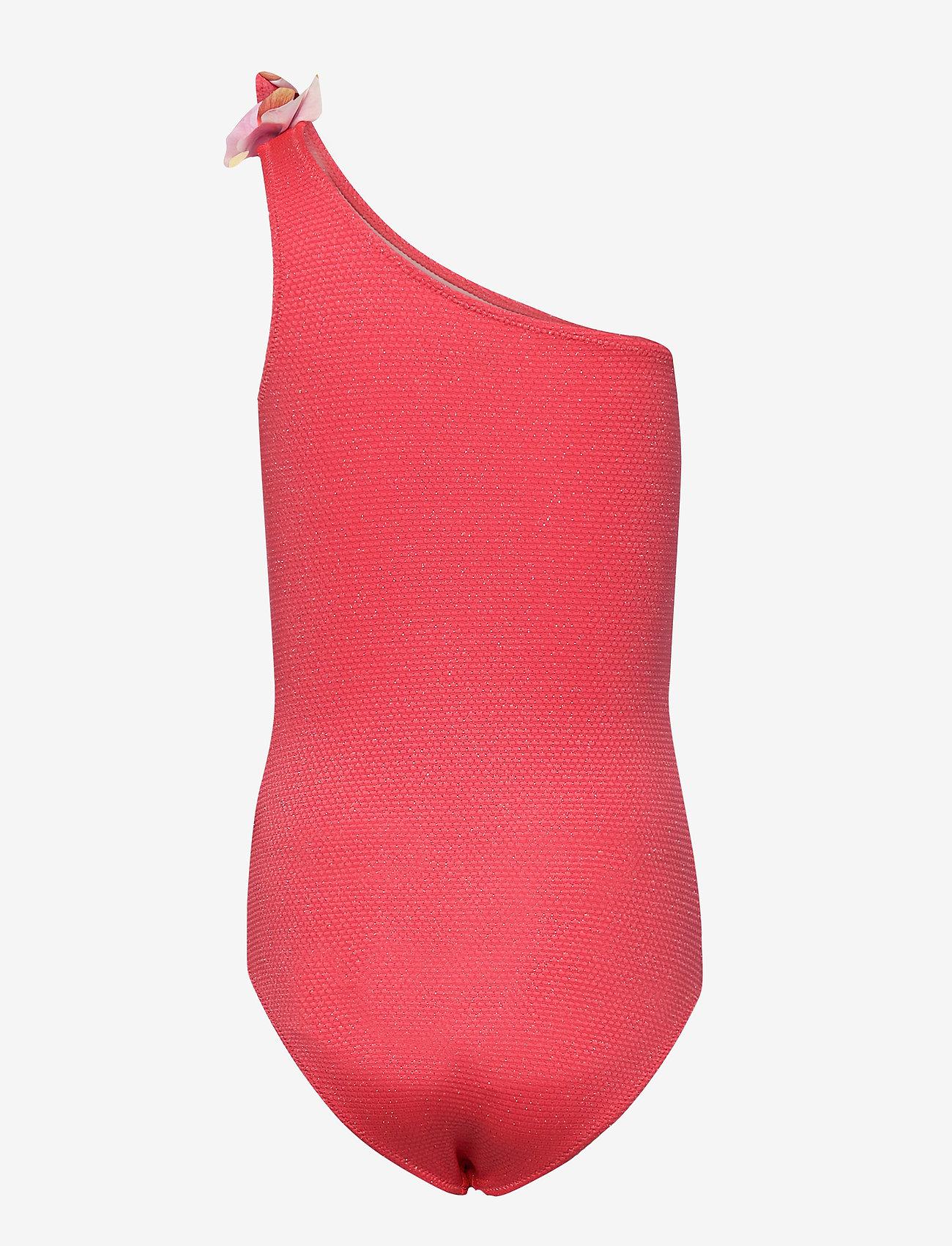 Molo - Nai - swimsuits - coral glitter - 1