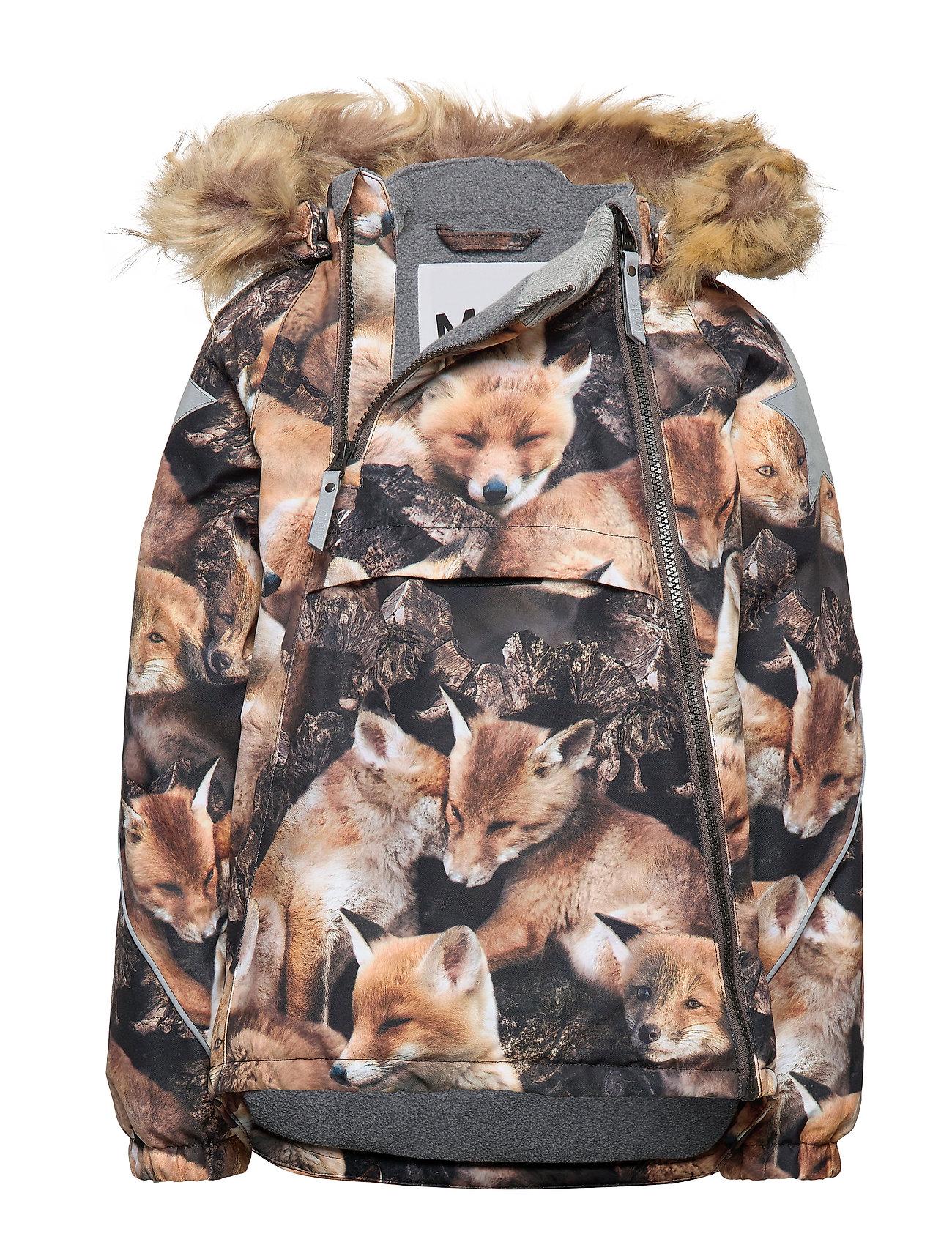 Molo Hopla Fur - FOX CAMO